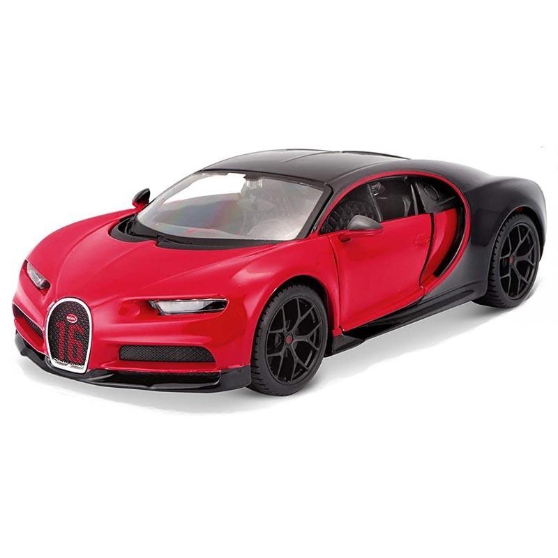 1/24 Bugatti Chiron Sport Negro y Rojo