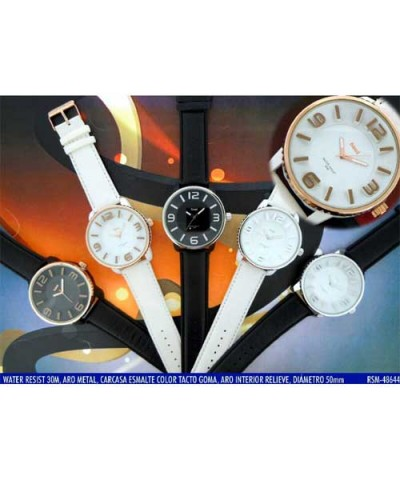 RSM-48644. Reloj pulsera SAMI hombre WR30M analógico