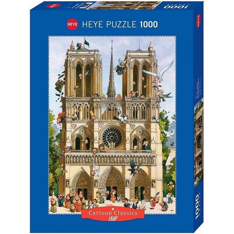 Puzzle 1000 Piezas ¡Viva Notre Dame!