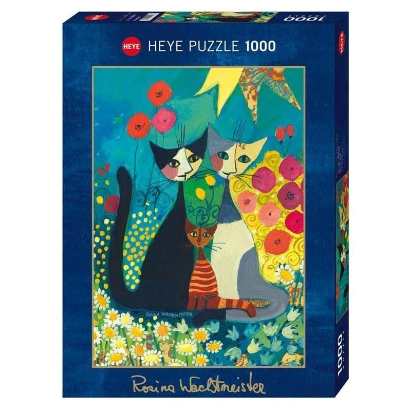 Puzzle 1000 Piezas Cama de Flores
