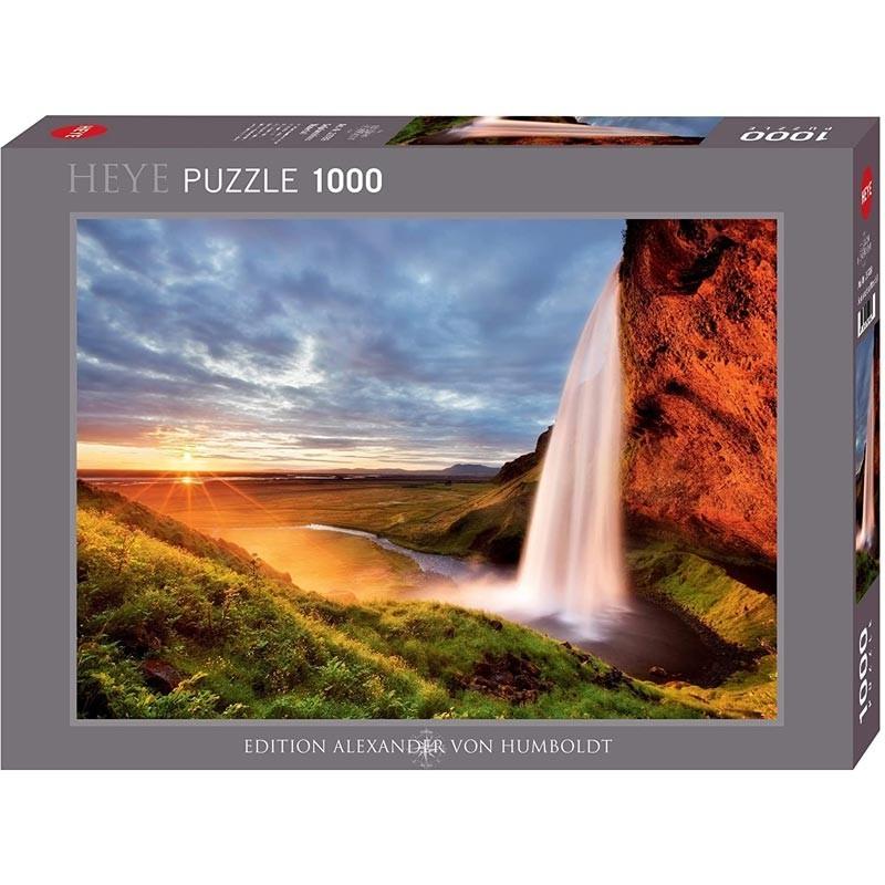 Puzzle 1000 Piezas Cascada de Seljalandsfoss