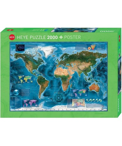 Puzzle 2000 Piezas Mapa Satelital