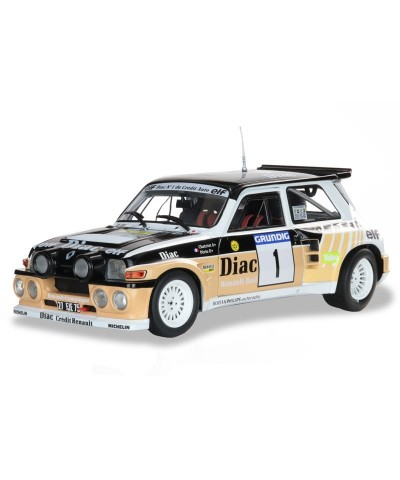 1/18 Renault 5 Maxi Rally Du Var 1986