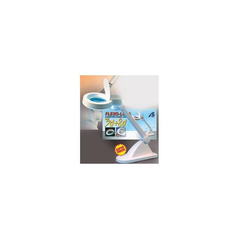 Artesania Latina 27117-1. Lampara lupa bifocal 3x8 aumentos