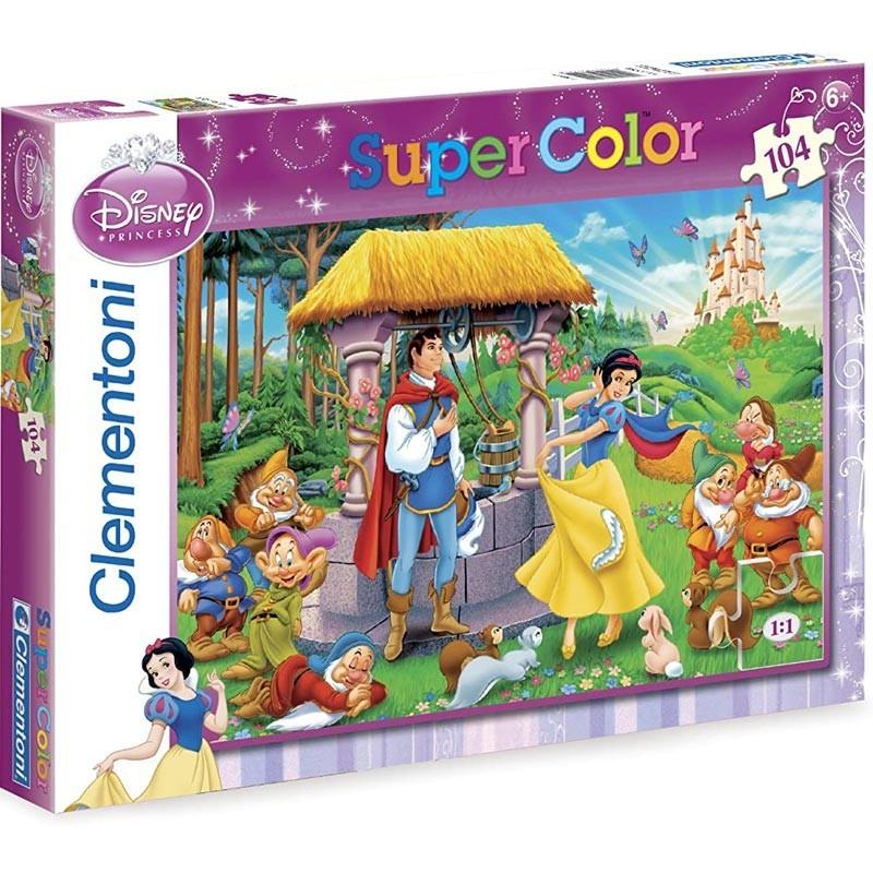 Puzzle 104 Piezas Blancanieves Tímida