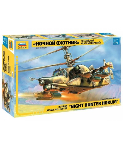 1/72 Helicóptero Night Hunter Hokum
