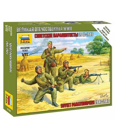 1/72 Paracaidistas Soviéticos 1941-43