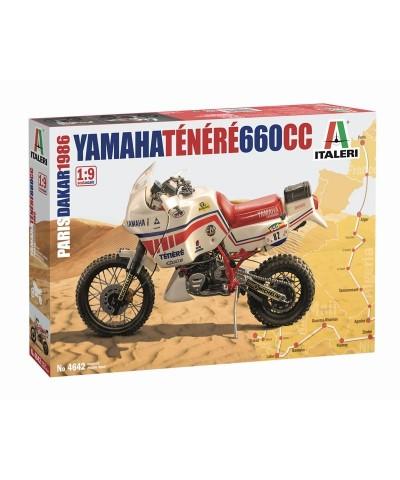 1/9 Moto Yamaha Ténéré 660cc Paris-Dakar 1986