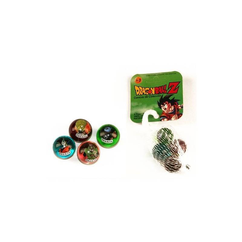 Canicas Dragon Ball Z coleccionista 4 bolas de cristal de 22mm