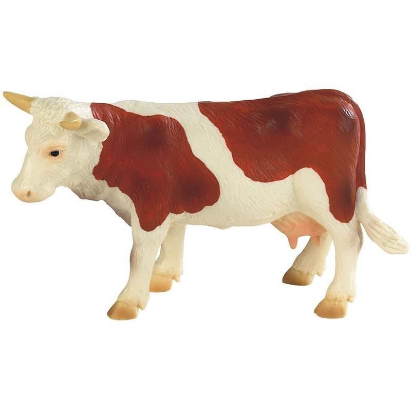 Vaca Lechera blanca/marrón