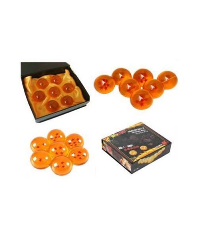 Coleccion 7 bolas de cristal de Dragon Ball Z en estuche regalo